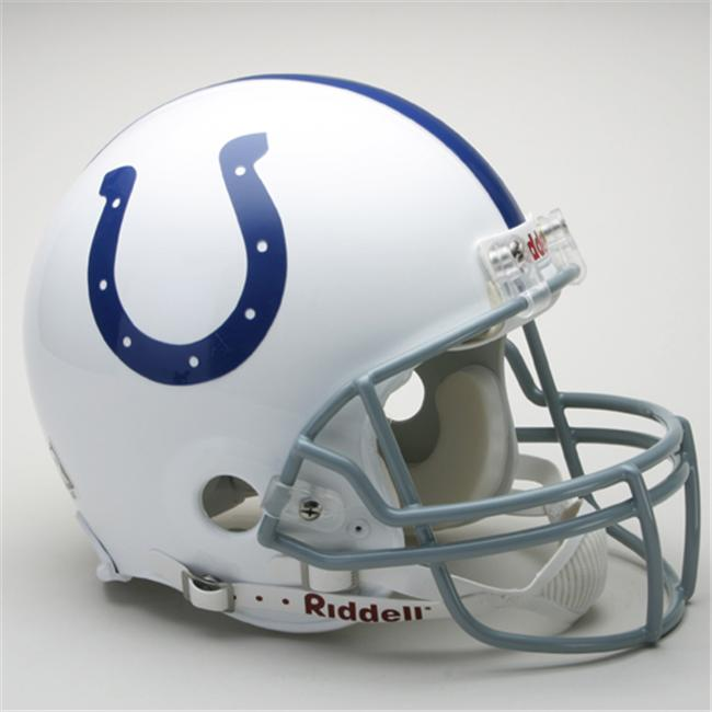 Creative Sports RD-COLTS-A Indianapolis Colts Riddell Full Size Authentic Proline Football Helmet