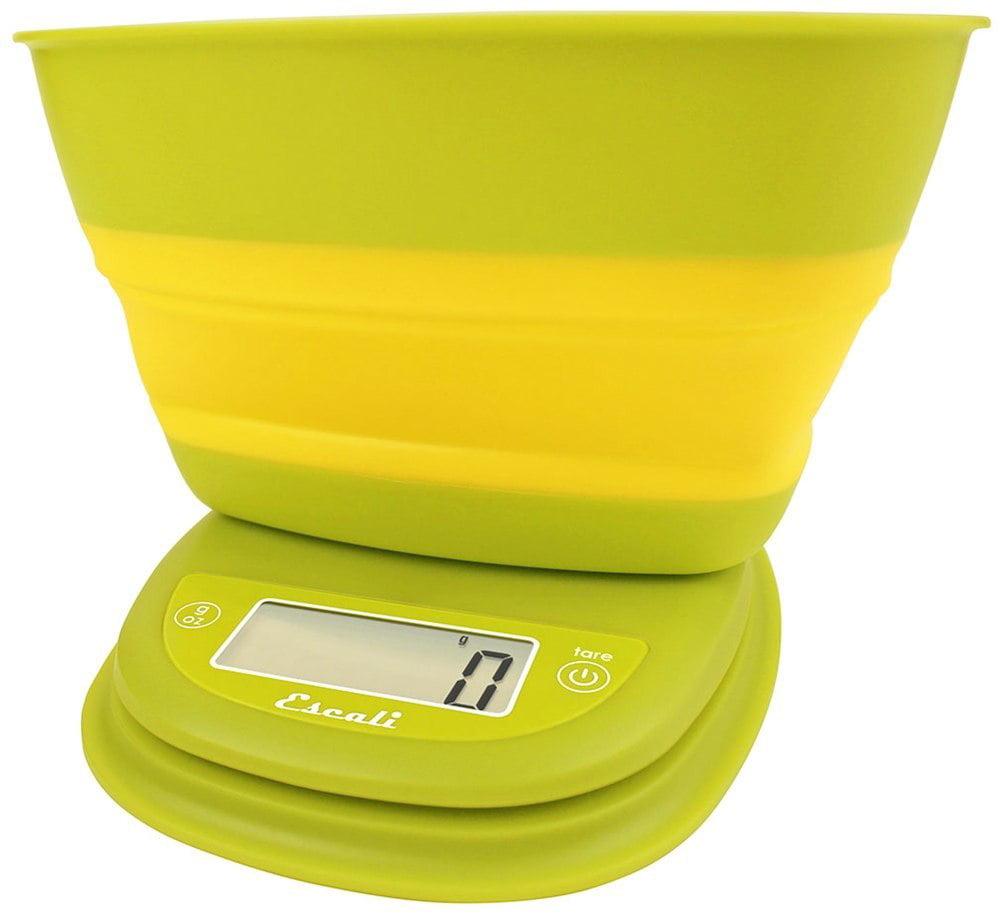 Escali - Pop Collapsible Bowl Digital Scale B115GY Garden Yellow