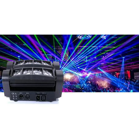 brand new a8bbd 471f3 Ktaxon LED Spider Moving Head Light RGBW 4 in 1 Beam DMX Stage Disco DJ  Lighting Spotlight Track Lighting