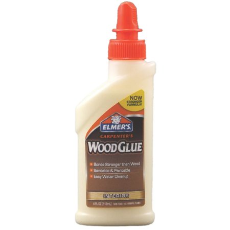 Elmer's Carpenter's Interior Wood Glue, 4 Oz.