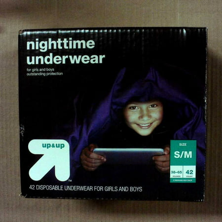 Nighttime Underwear Size S/M - 42ct - up & up™