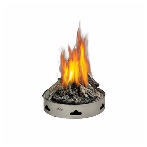 Napoleon GPFP-2 Patioflame 60000 BTU 20 Inch Diameter Liquid Propane Outdoor Fireplace with PHAZER Logs by Napoleon