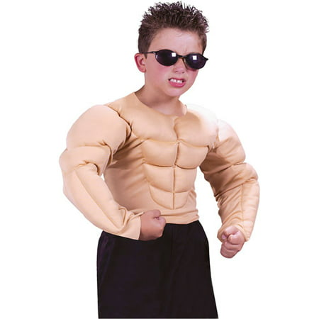 Muscle Shirt Child Halloween Costume](Halloween Humor For Kids)