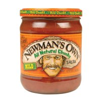 Newman's Own All Natural Chunky Salsa - Mild - Pack of 12 - 16 Oz.