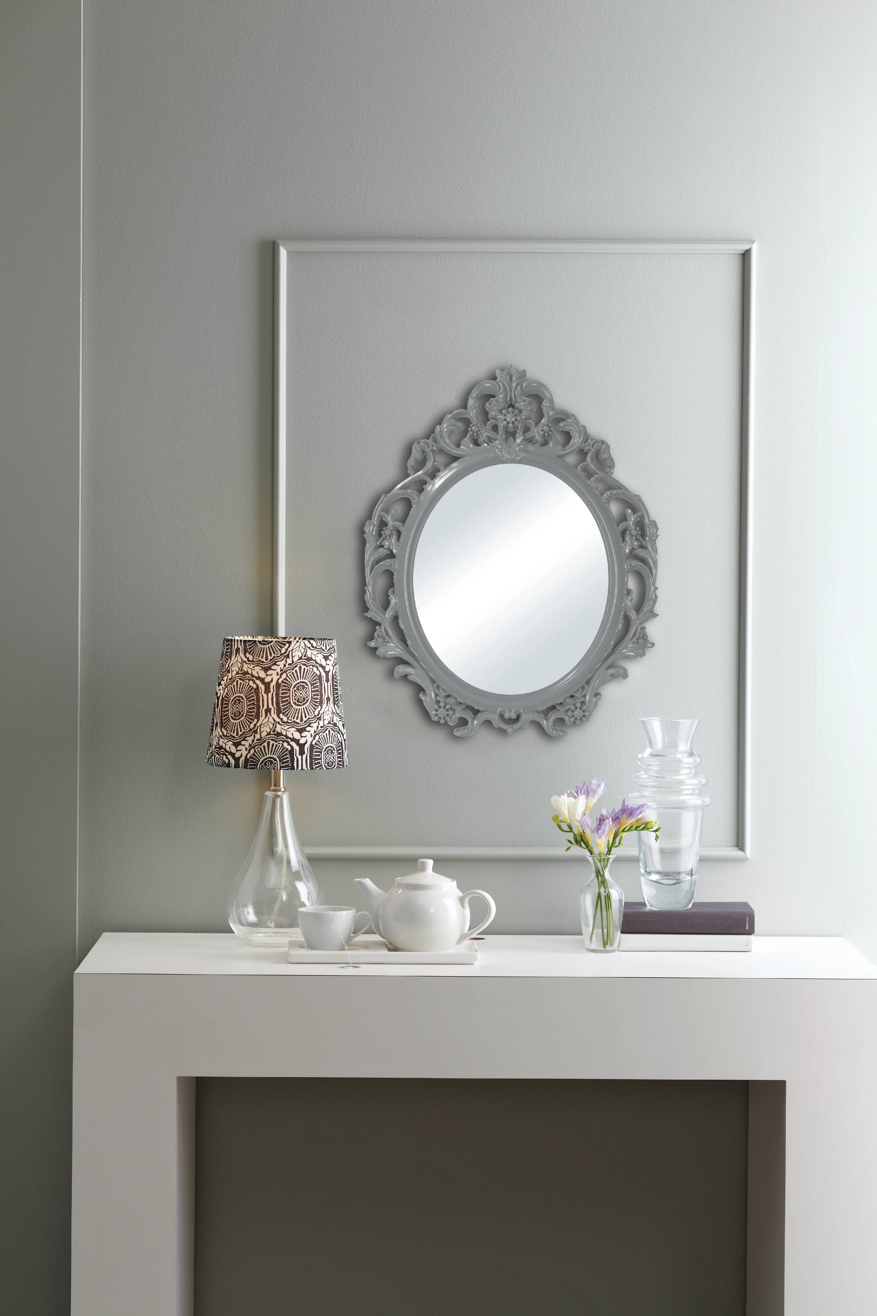 Better Homes and Gardens Ornate Baroque Wall Mirror by Columbia Frame