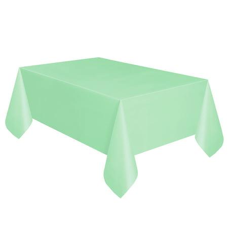 Plastic Mint Table Cover 108 Quot X 54 Quot Walmart Com