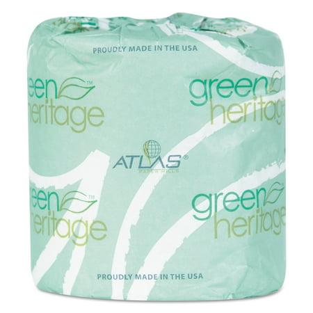 Atlas Paper Mills Green Heritage Toilet Tissue 3 X 4