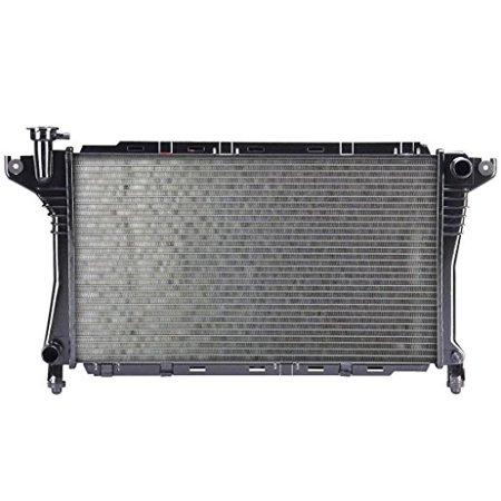 Radiator - Pacific Best Inc For/Fit 1077 1077 88-90 Dodge Dynasty Chrysler Landau 5th Avenue Imperial 4/6Cy 2.5/3.3L Plastic Tank Aluminum Core 1-Row