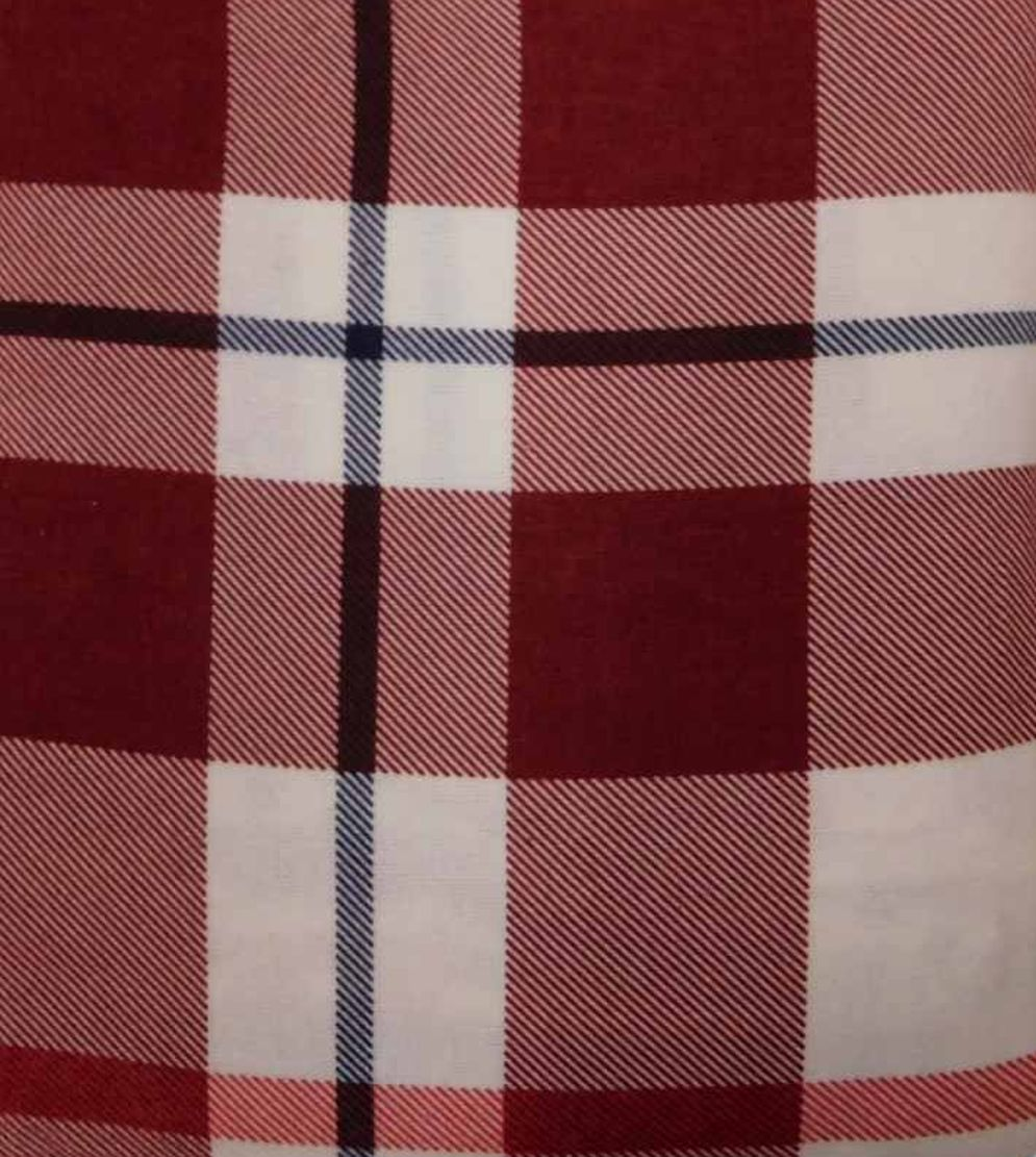 threshold king cotton flannel sheet set red plaid bed sheets