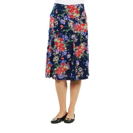 Tokyo Garden Maternity Skirt --Available in Plus Sizes