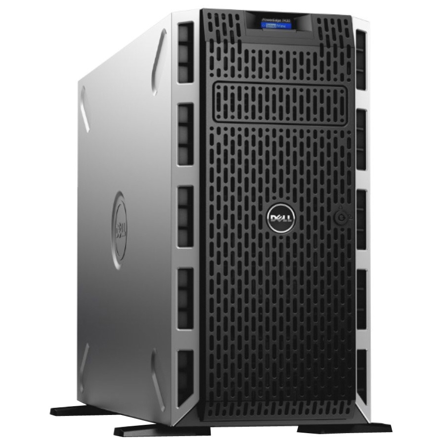 Dell Poweredge T430 5u Tower Server - 1 X Intel Xeon E5-2603 V3 Hexa-core [6 Core] 1.60 Ghz - 2 Processor Support - 8 Gb Standard Ddr4 Sdram Maximum Ram - 1 Tb Hdd - 12gb/s Sas Raid (463-6080)