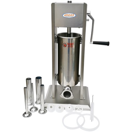 Hakka 2 in 1 Sausage Stuffer and Spanish Churro Maker Machines (11LB/5L) (Churros Machine)