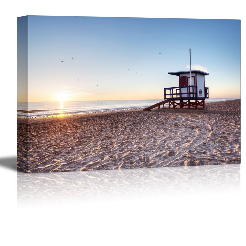 Canvas Prints Wall Art Beautiful Scenery Landscape Of The Cocoa Beach Florida Modern Home Deoration Wall Decor Giclee Printing Wrapped Canvas Art Ready To Hang 12 X 18 Walmart Com