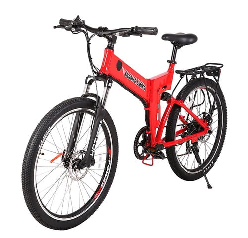 X-Treme Scooter ELITE X-Cursion Electric FOLDING Mountain Bike, eBIke by