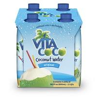 Vita Coco Coconut Water, Pure, 16.9 Fl Oz, 4 Count