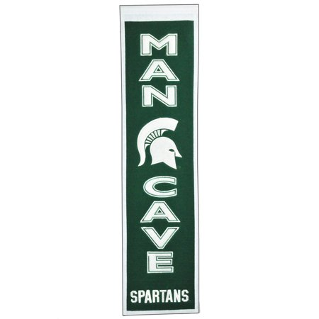NCAA Man Cave Banner, Michigan State -