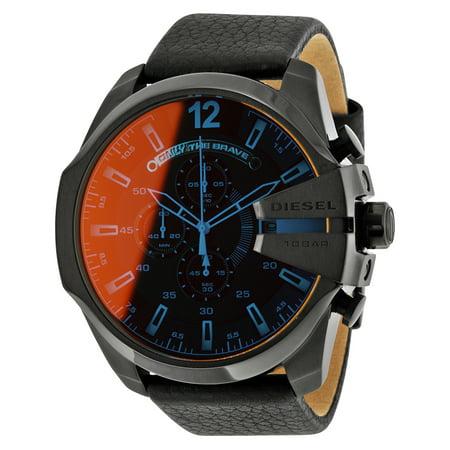Diesel Chronograph (Black Diesel Mega Chief Oversized Chronograph Watch DZ4323 )