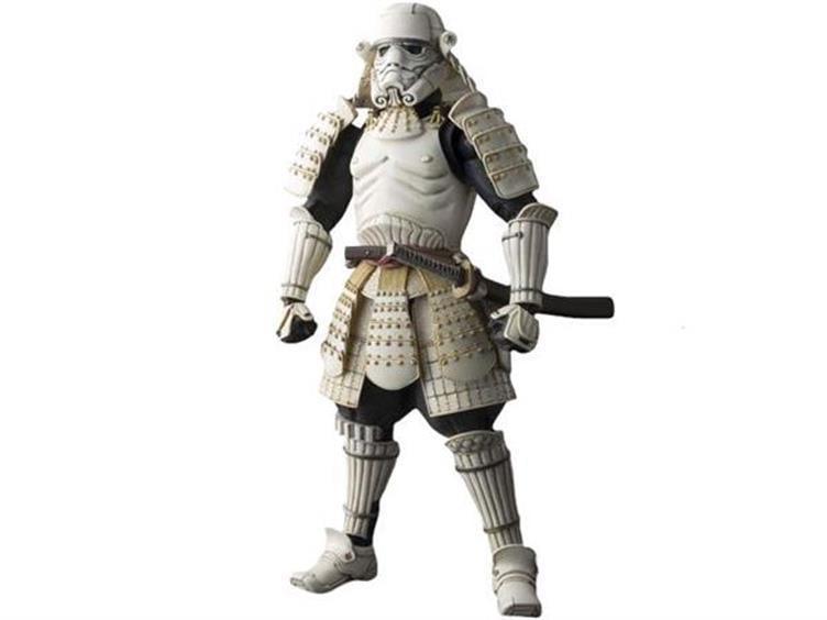 "Star Wars Ashigaru Movie Realization 7"" Foot Soldier Stormtrooper Action Figure by Bandai Japan by Bandai"