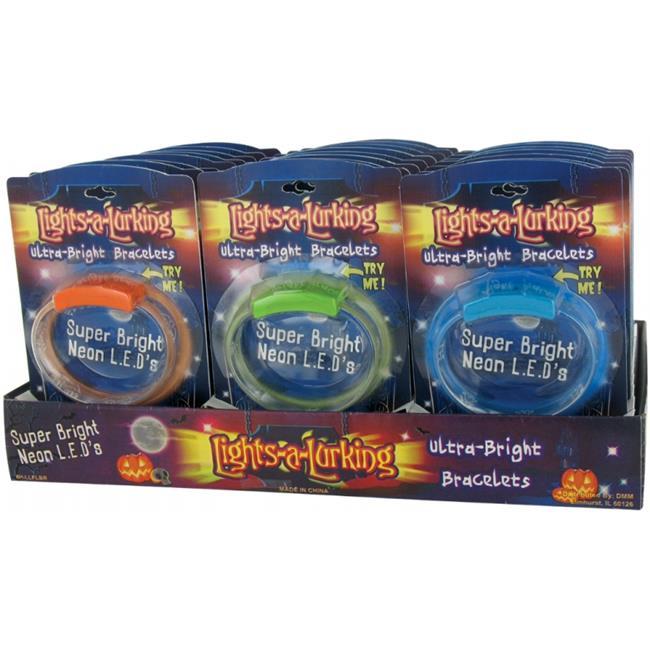 DDI 1833036 Halloween Flashing Bracelet