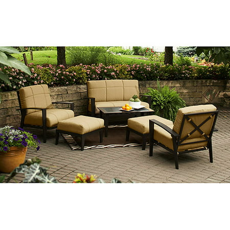 Hometrends Urban Haven Ii 6 Piece Conversation Set