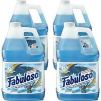 Fabuloso, CPC05252, Ocean Multi-use Cleaner, 4 / Carton, Blue