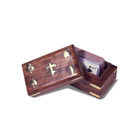 Wooden Card Box (Wooden Playing Card Box )