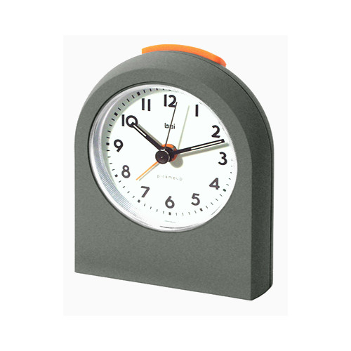 Bai Design Pick-Me-Up Alarm Clock in Gunmetal