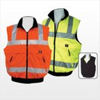 3asafety C2BW8000-XL Orange Reversible Body Warmer - Extra Large