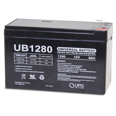 *NEW* 12V 8AH SLA Replacement for Power Patrol Backup Battery SLA1075 ()