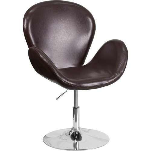 Orren Ellis Whicker Leather Lounge Chair