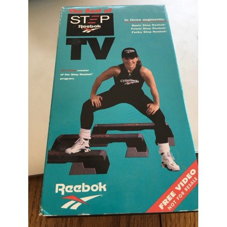 The Best of Step Reebok TV Workout VHS Video Tape Out Of