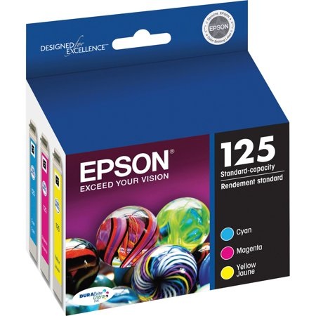 C88 Continuous Ink System - Epson 125 Standard-capacity Color Multi-Pack Ink Cartridges