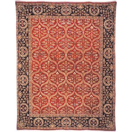 Safavieh Heirloom Hand-Knotted Treasures Kerman Wool Area Rug (6' x 9')