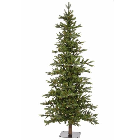 8' Pre-Lit Shawnee Alpine Style Artificial Christmas Tree - Clear LED Lights