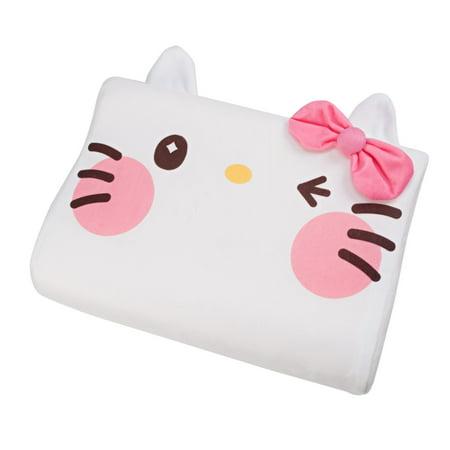 Sanrio Yurukawa Hello Kitty White Foam Pillow (Hello Kitty Sleeping Bag With Pillow)
