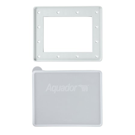 1084 Swimming Pool Winter In-Ground Skimmer Cover Plate Fits Hayward,  Aquador Skimmer Closure System By Aquador