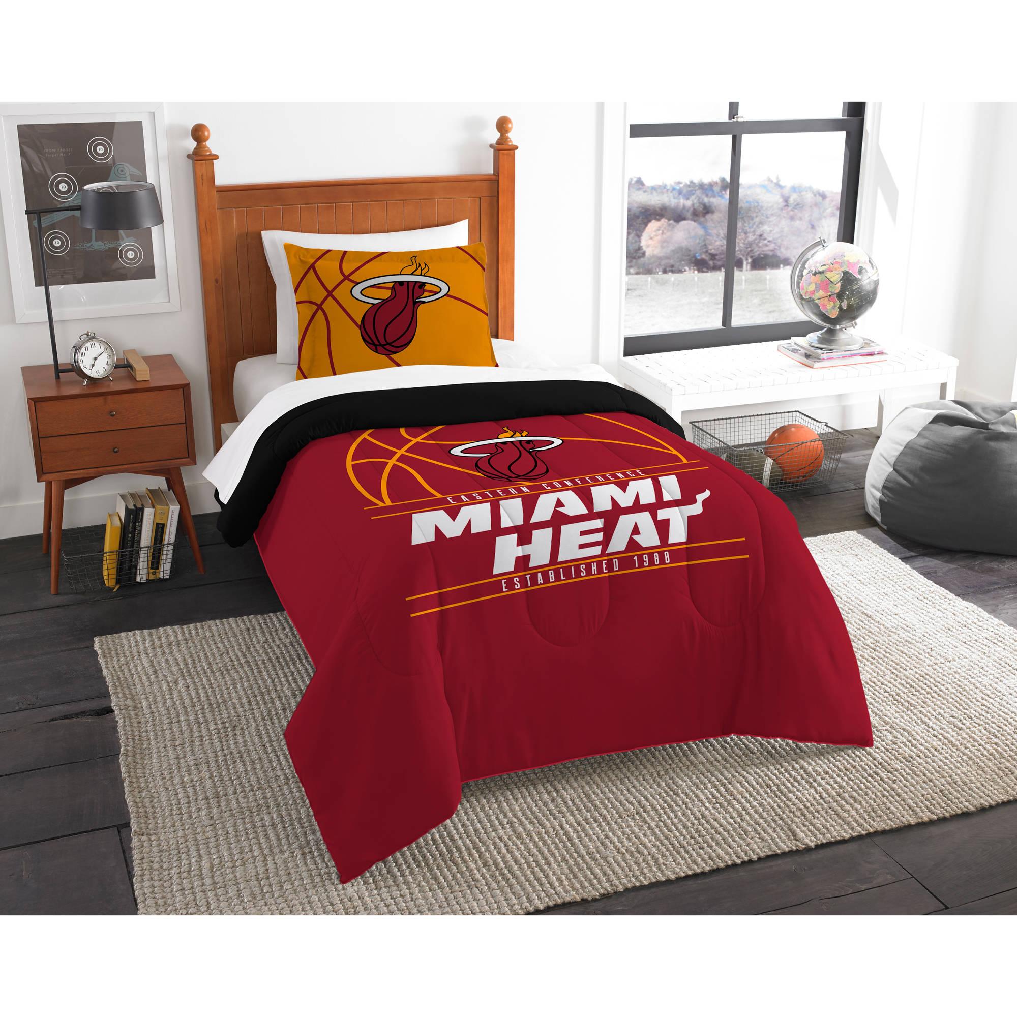 "NBA Miami Heat ""Reverse Slam"" Bedding Comforter Set"