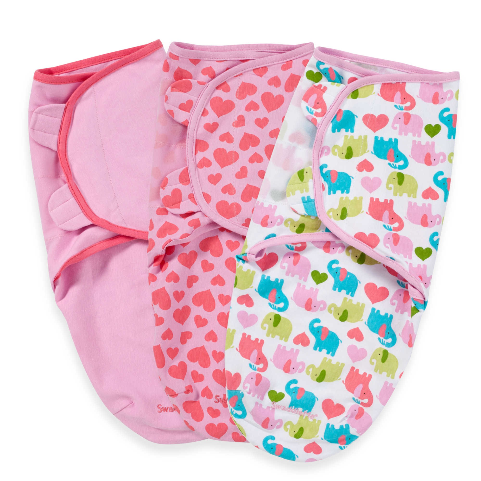 Damaged Packaging Summer Infant SwaddleMe Swaddle 3 Pack Size Small