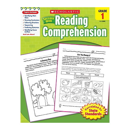 Scholastic Success with Reading Comprehension, Grades 1 - Reading Comprehension Halloween Elementary