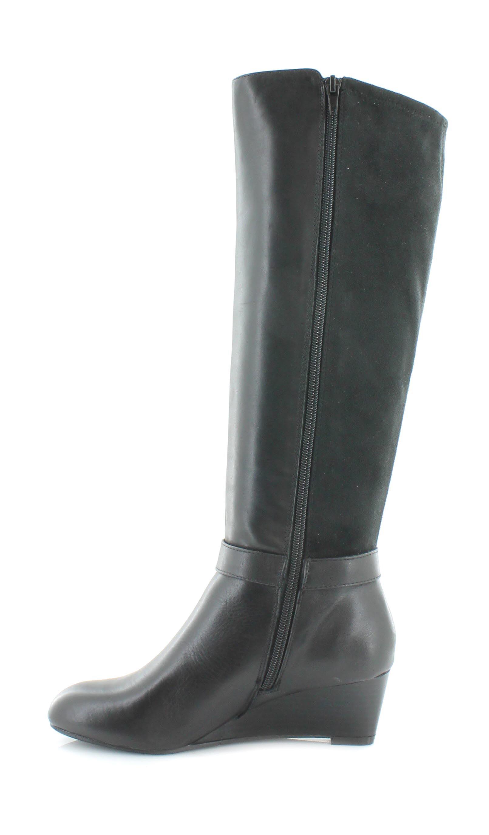 Giani Bernini Dafnee Wide Calf  Round Toe Boots