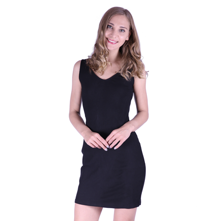 HDE - HDE Womens Plus Size Tank Top Dress Bodycon Casual ...