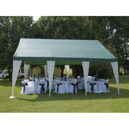 King Canopy 20 x 20 ft. Green and White Event Tent