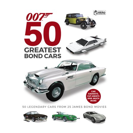 50 Greatest James Bond Cars (Hardcover)