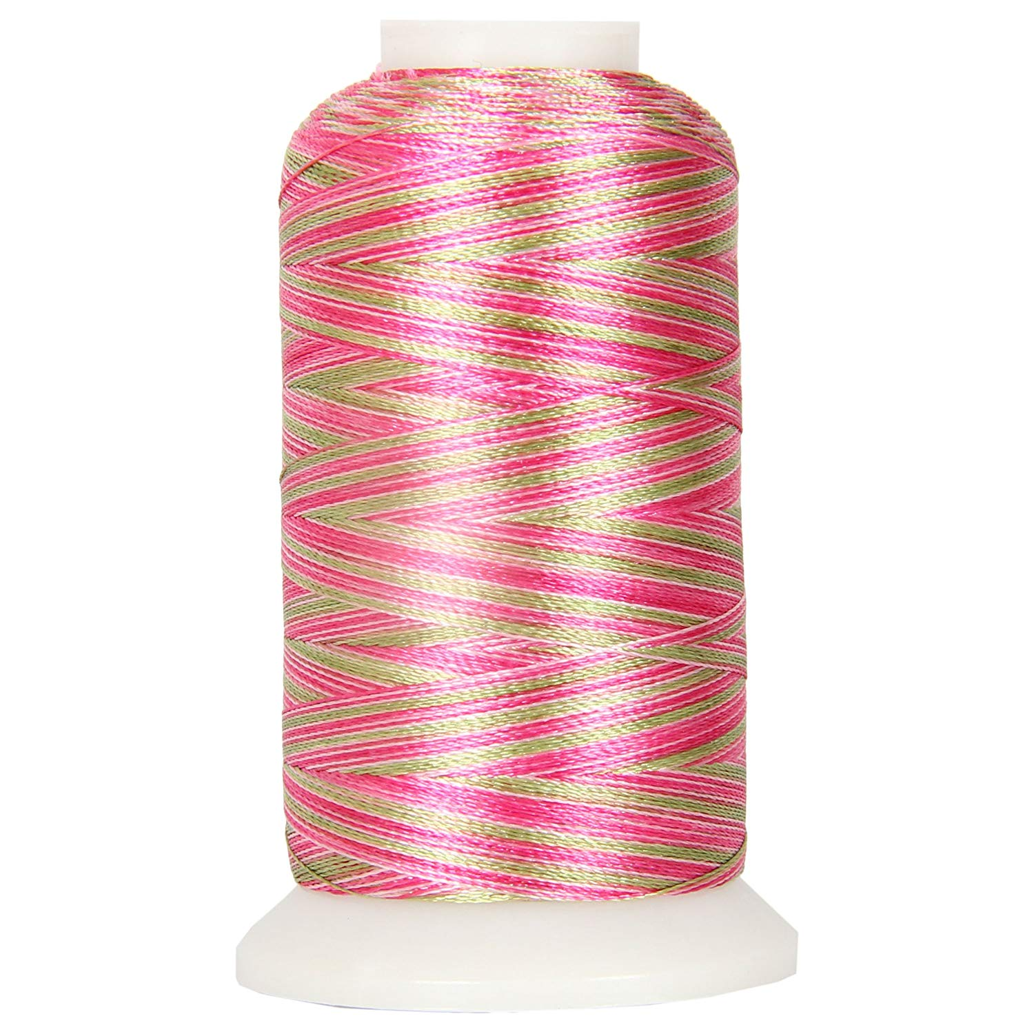 40WT POLYESTER MACHINE EMBROIDERY THREAD SET 20 PINK//BLUE COLORS 1000M CONES