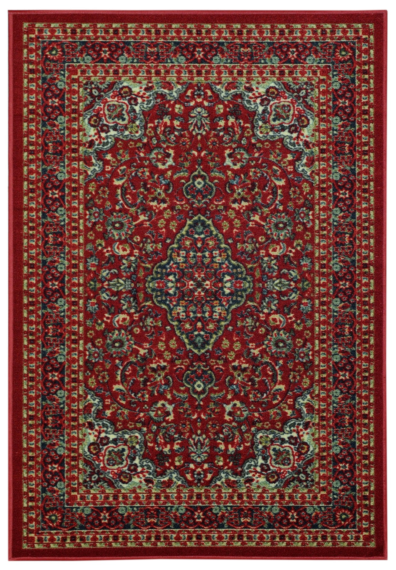 Maxy Home Hamam Collection HA-5030 (Non-Skid) Rubber Back Area Rug 60-inch-by-78-inch 5'x'7' by Rugnur