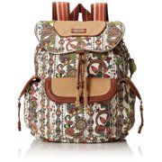 Women Artist Circle Flap Backpack One Size US