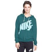 Nike Womens Teal Zip-up Jacket