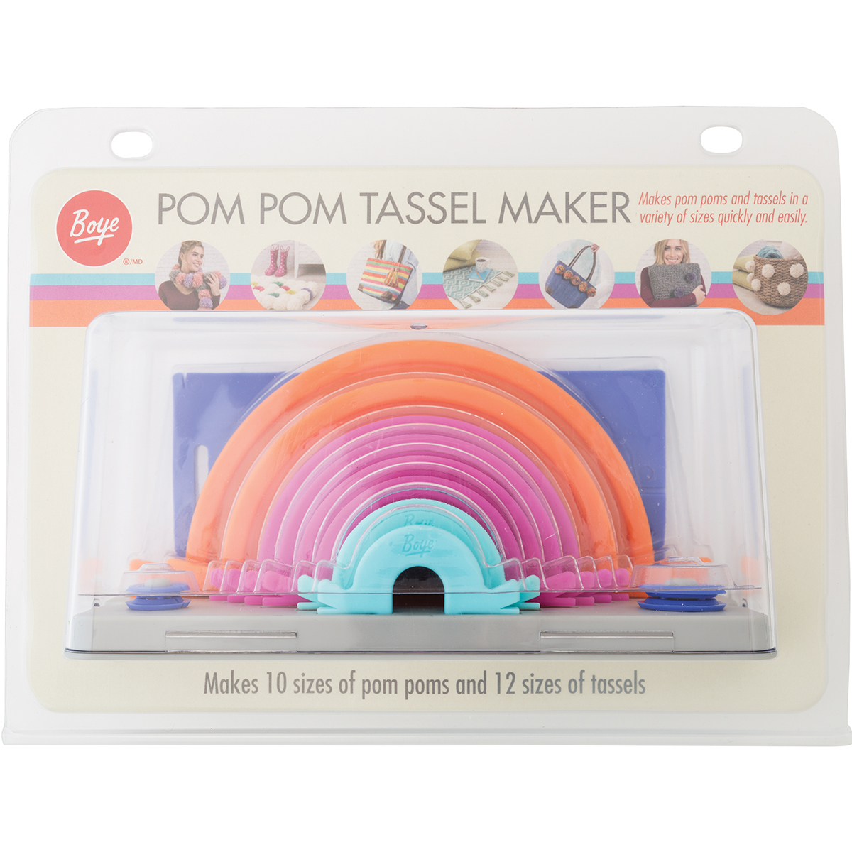 Boye Pom-Pom Tassel Makers-Multiple Sizes