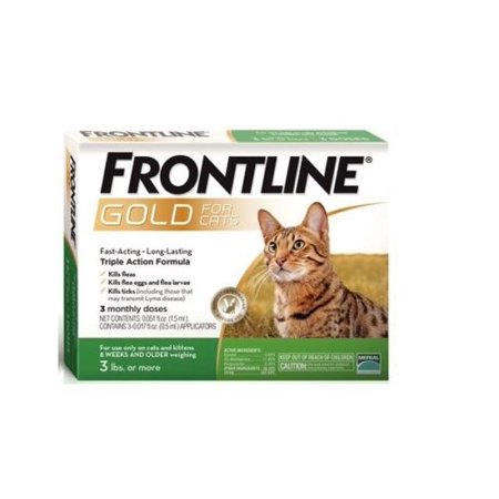 Frontline Plus for Dogs and Cats not only kills adult fleas and ticks, but also prevents flea infestation by keeping the next flea generation (eggs, larvae, pupae) from developing. Frontline Plus is waterproof, easy to apply, effective for 30 days and recommended by vets.