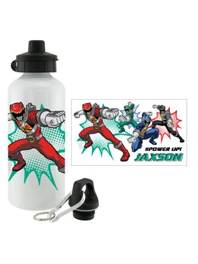 762f51e3fb Product Image Personalized Power Rangers Dino Charge Power Up Sports Bottle